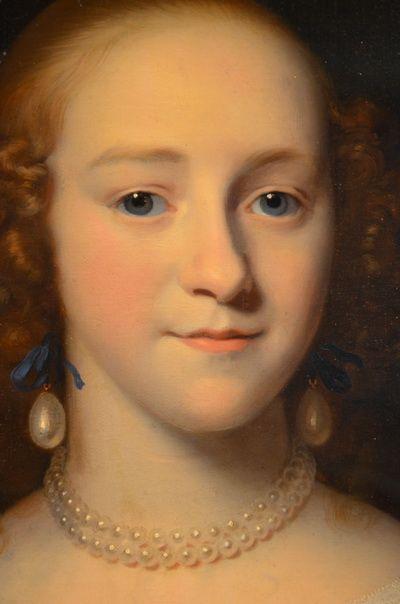 Portret van een jonge vrouw (mogelijk Susanna Reael), 1656, by Isaac Luttichuys (Dutch, 1616-1673)