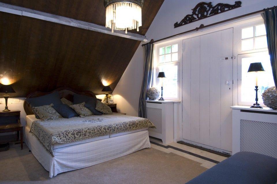 Slaapkamer met klassieke inrichting interieur decoratie