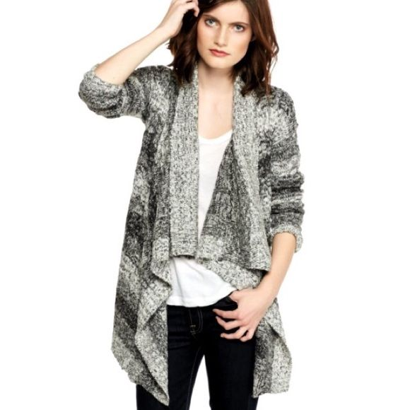 Romeo & Juliet Couture Ombre Drape Cascade Sweater NWT | Sweater ...