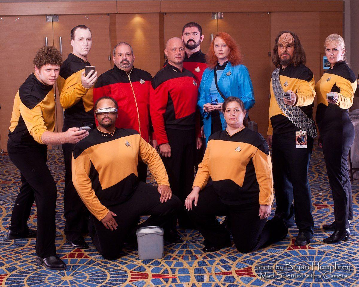 DragonCon 2012 - Star Trek TNG - Bestine Fan Force