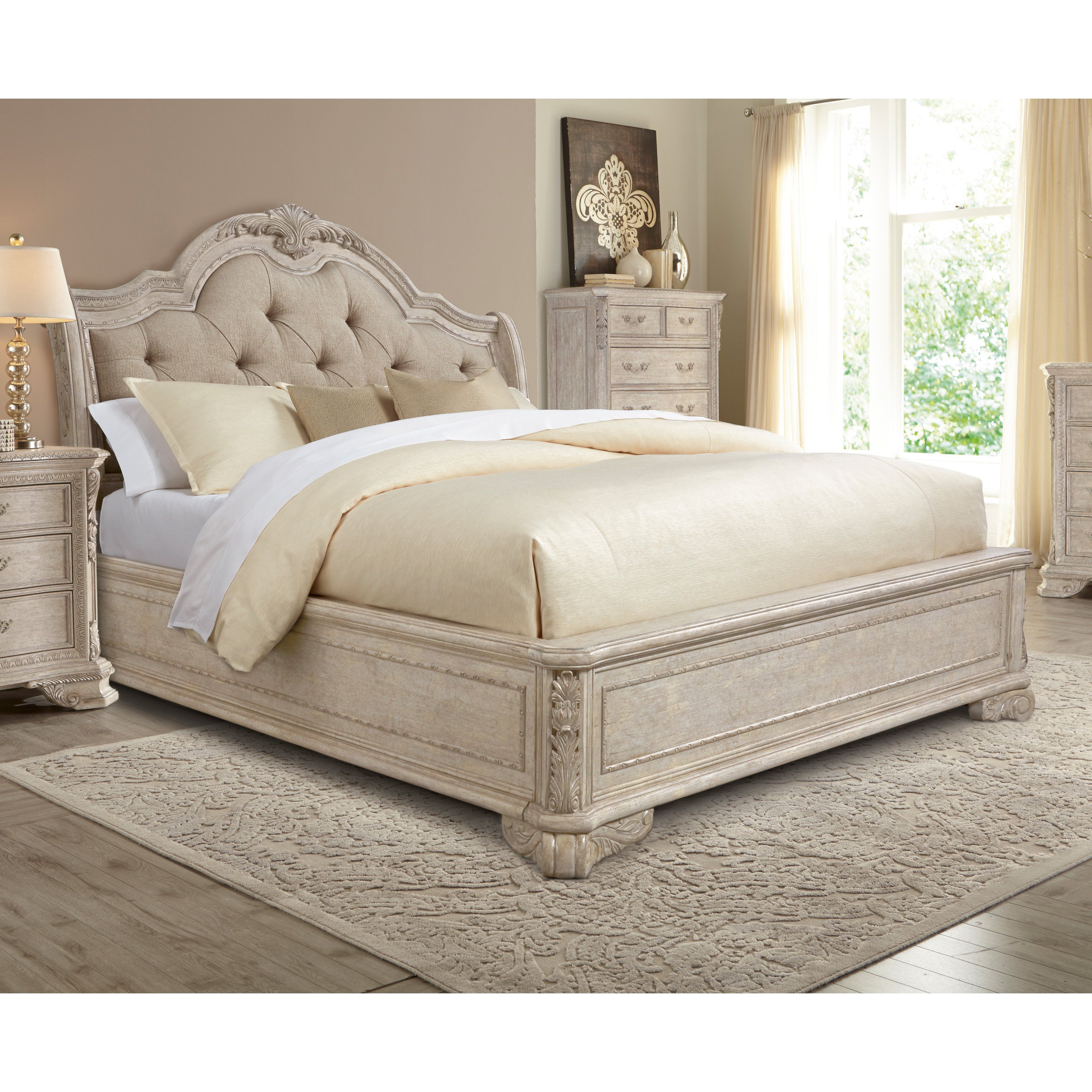 full linen uncategorized sleigh bed of tufted for headboard king size footboard fantastic with upholstered and queen