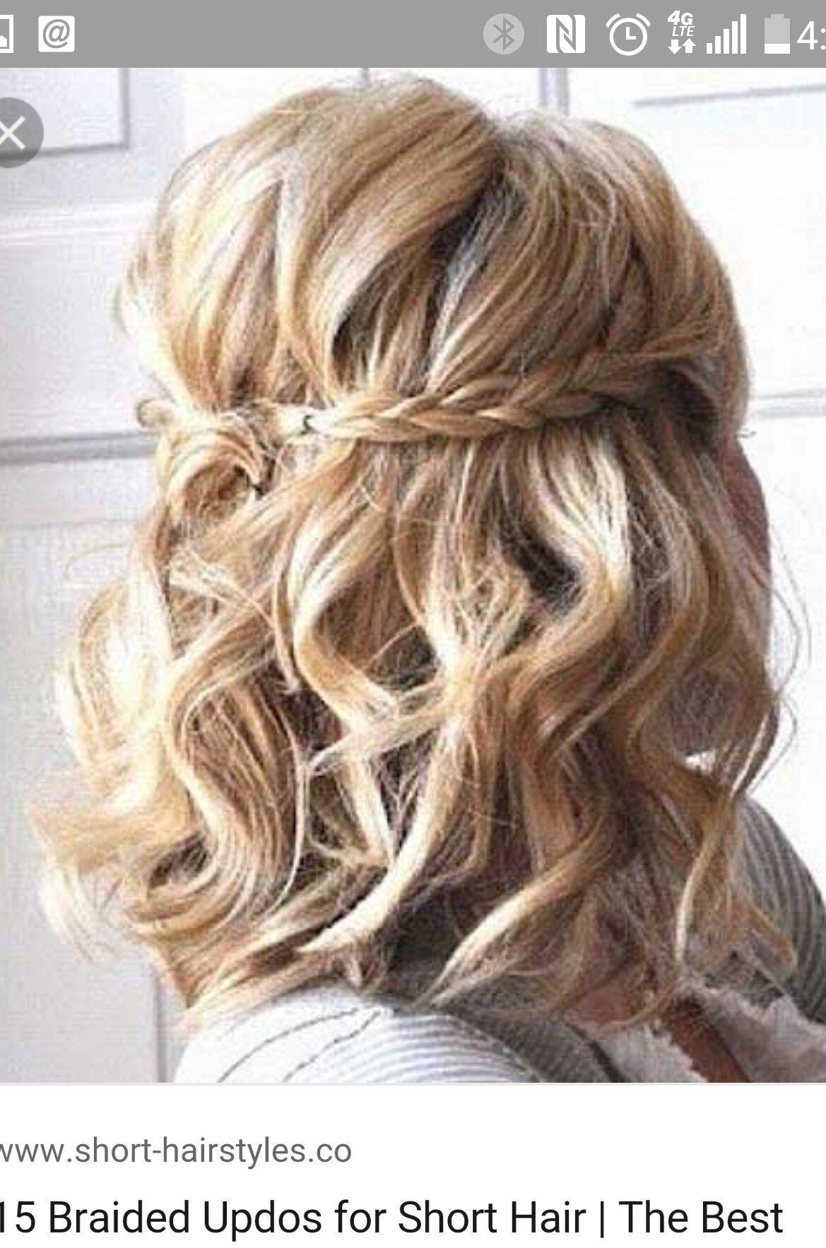 Pin by jillian gallogly on hair pinterest hair style bridesmaid