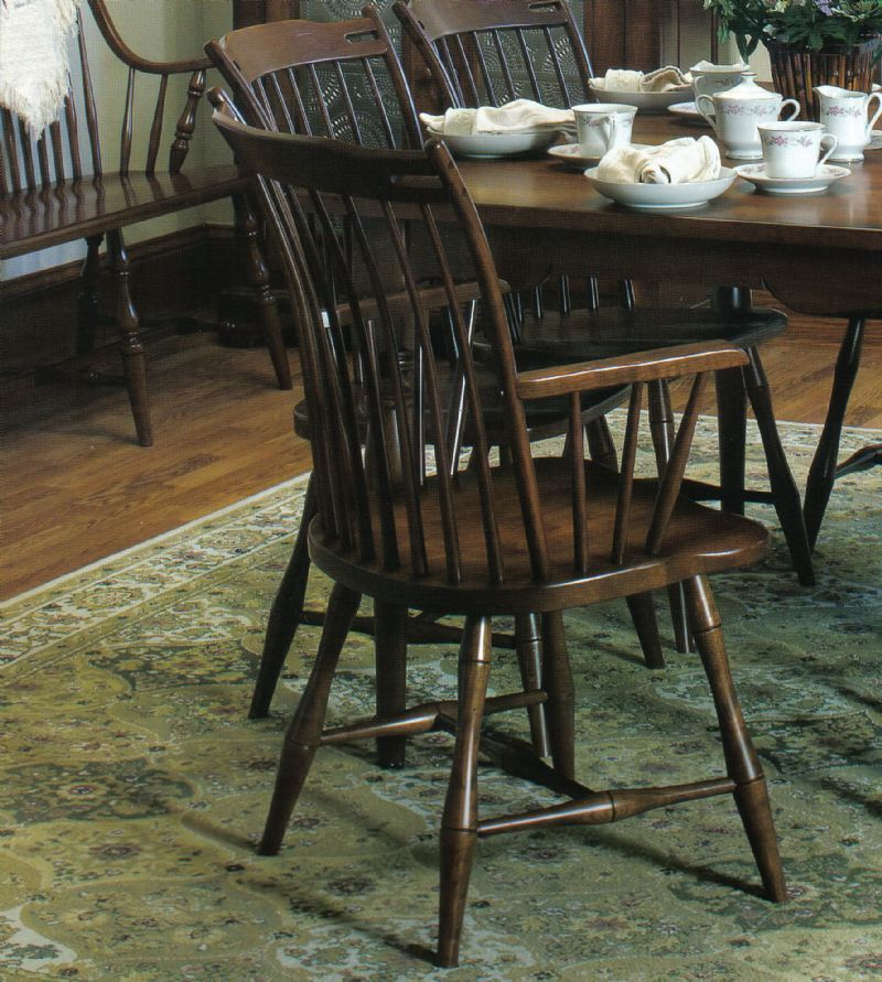 amish thumb back windsor dining room chair windsor dining chairs rh pinterest com