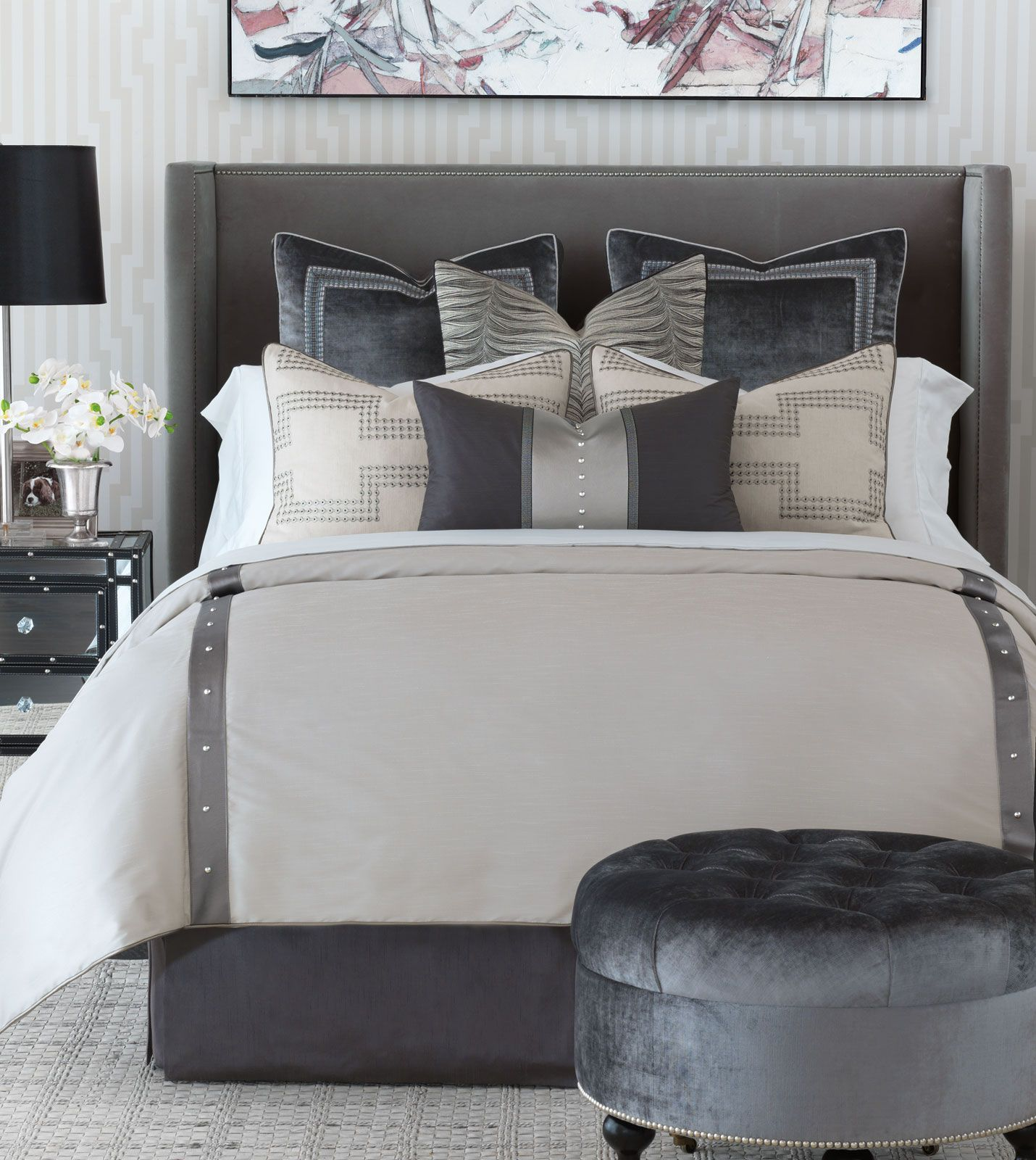 luxury bedding by eastern accents  hendrix collection  bedding  - luxury bedding by eastern accents  hendrix collection