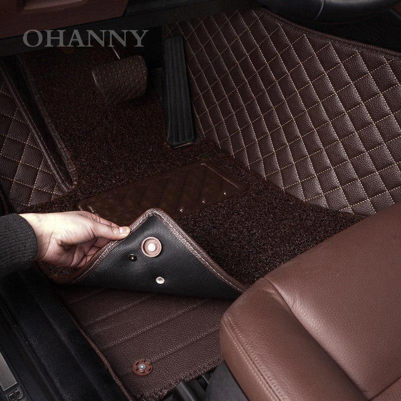 High Quality Custom Fit Car Floor Mats Case For Volkswagen Vw