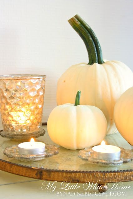 My Little White Home by Nadine: White Fall at home