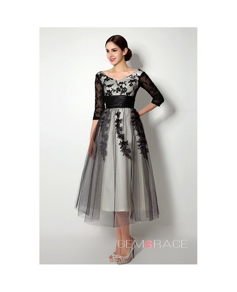 Short scoop longsleaves tealength dresses with lace c