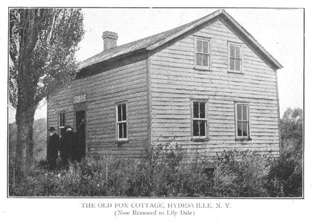 the home of the famous fox sisters in hydesville just outside rh pinterest com
