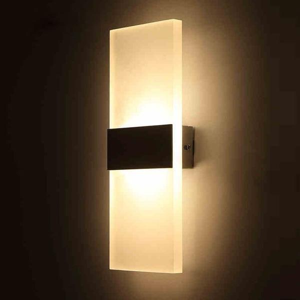 Modern Strip Acrylic Led Wall Lamp