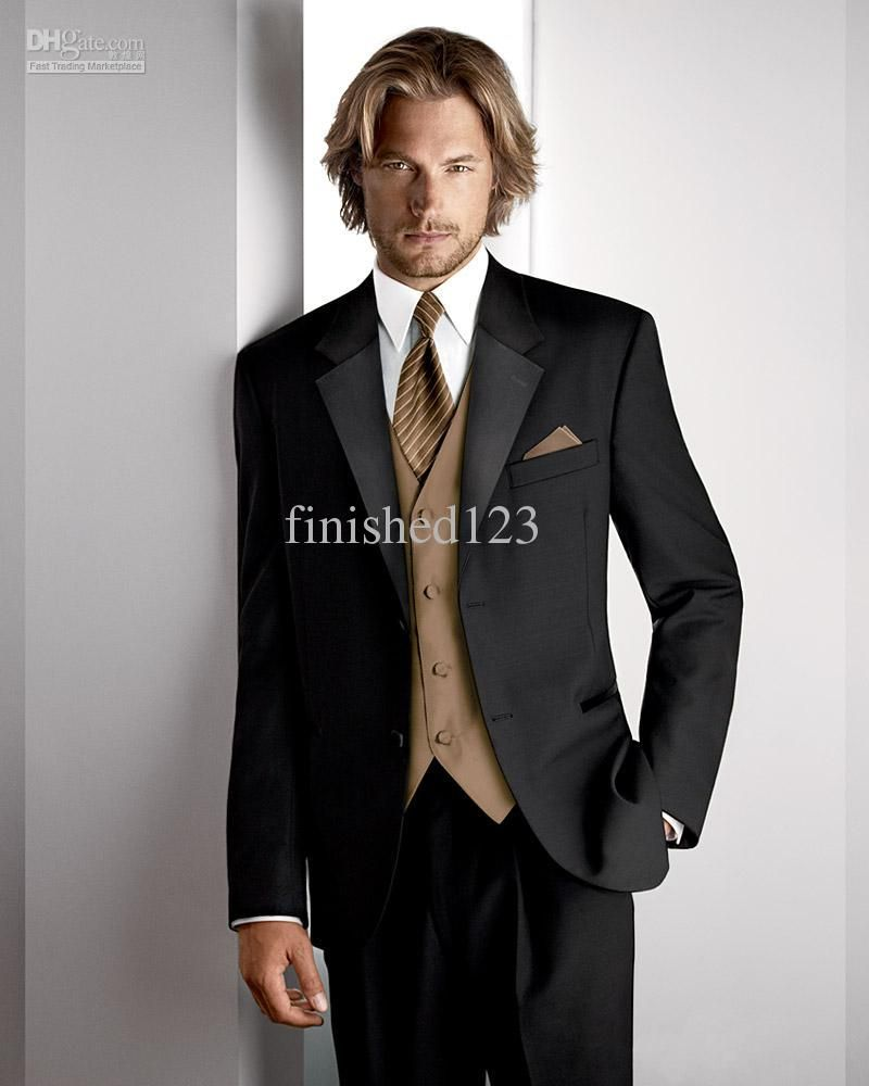 mens fashion Fashion style Men Wedding Dress Groom Wear