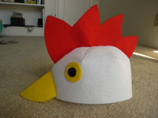 how to make a chicken tail costume