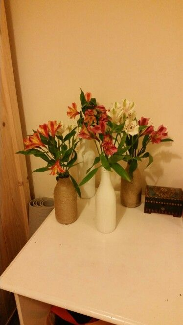More Homemade Vases Crafty Stuff Pinterest Crafty