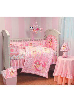 Strawberry Shortcake 8pc Crib Bedding Set Nursery Girls Dust