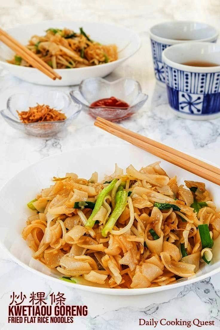 to prepare delicious kwetiau gorengchar kway teow Add meat to this vegetarian version to create all kinds of char kway teow Spicy curries crispy Peking duck or aromatic n...