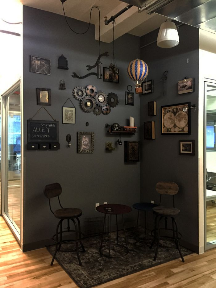 office tour alley coworking offices new york city home decor rh pinterest com
