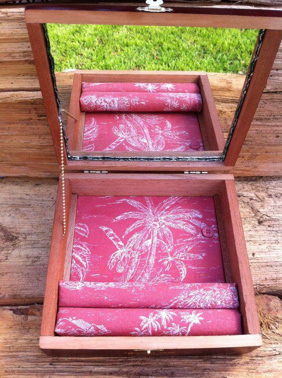 Upcycled Carlos Torano Cigar Jewelry Box by HotBoxShop on Etsy