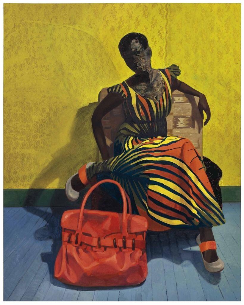Njideka Akunyili Crosby (Nigerian, b. 1983), Mimetic