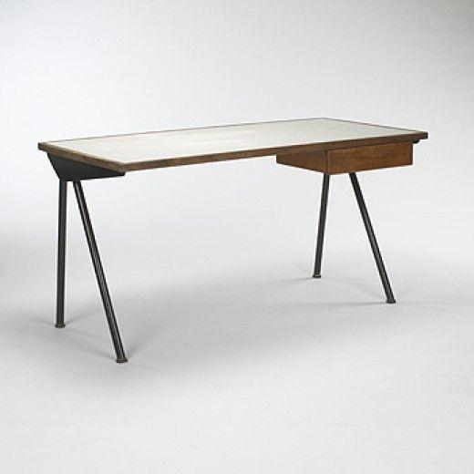 Jean Prouve Compass Desk For The Cite Universitaire Antony