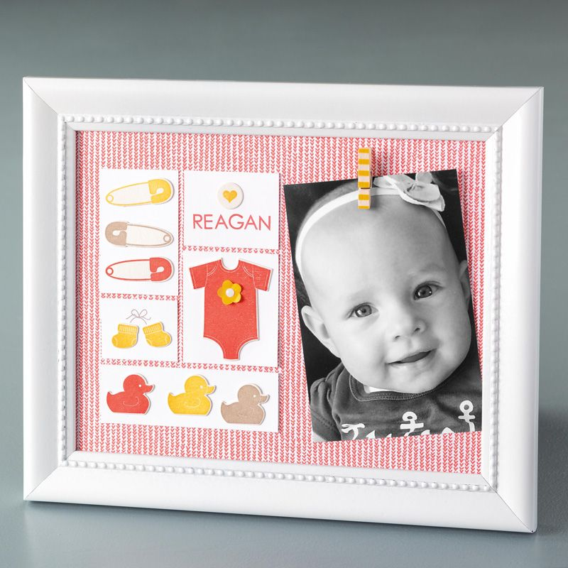 Baby's First Framelits Dies by Stampin' Up! Stampin up