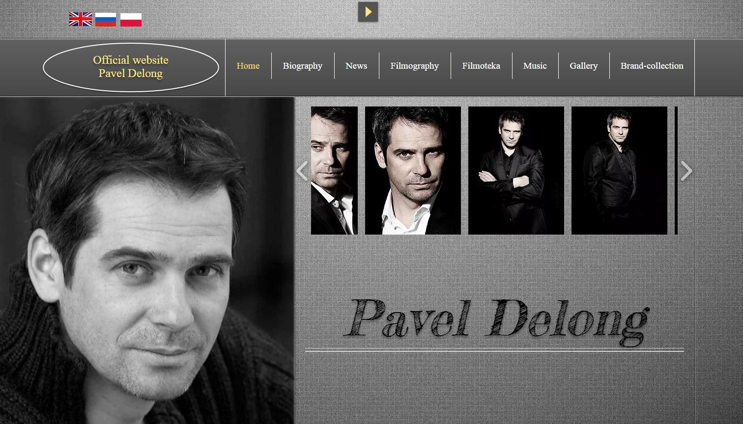 Pavel Delong (Paweł Deląg): the filmography and biography of the actor (photo)
