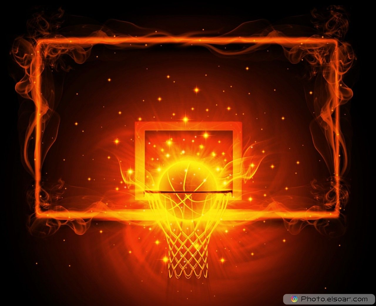 Basketball Fire Hoop Cool Basketball Pictures Basketball Wallpaper Basketball Pictures