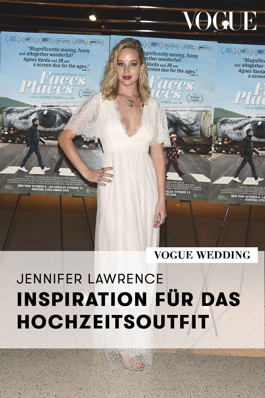Jennifer Lawrence Hochzeitskleid