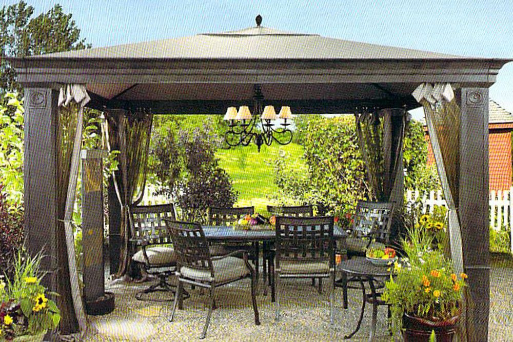 Tiverton Gazebo Replacement Canopy / High-Grade
