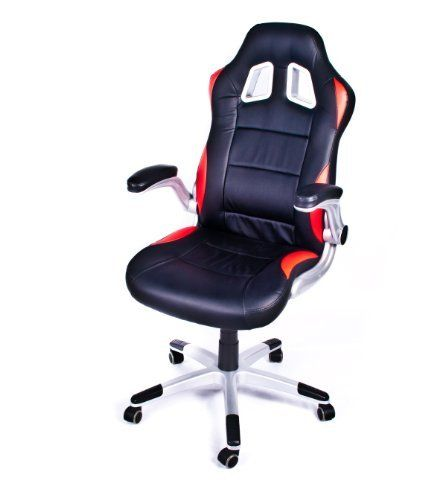 gt 500 leather bucket seat office racer chair by decor furniture