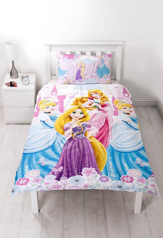 Disney princess dreams single rotary duvet set amazonco