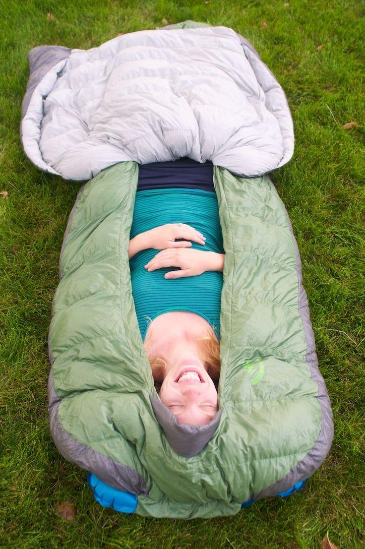 Not A Mummy Zipper Less Design Offers New Sleeping Bag Experience