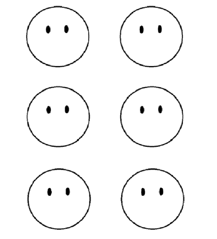 Printable Smiley And Sad Faces Google Search El Cuerpo - sad face coloring page