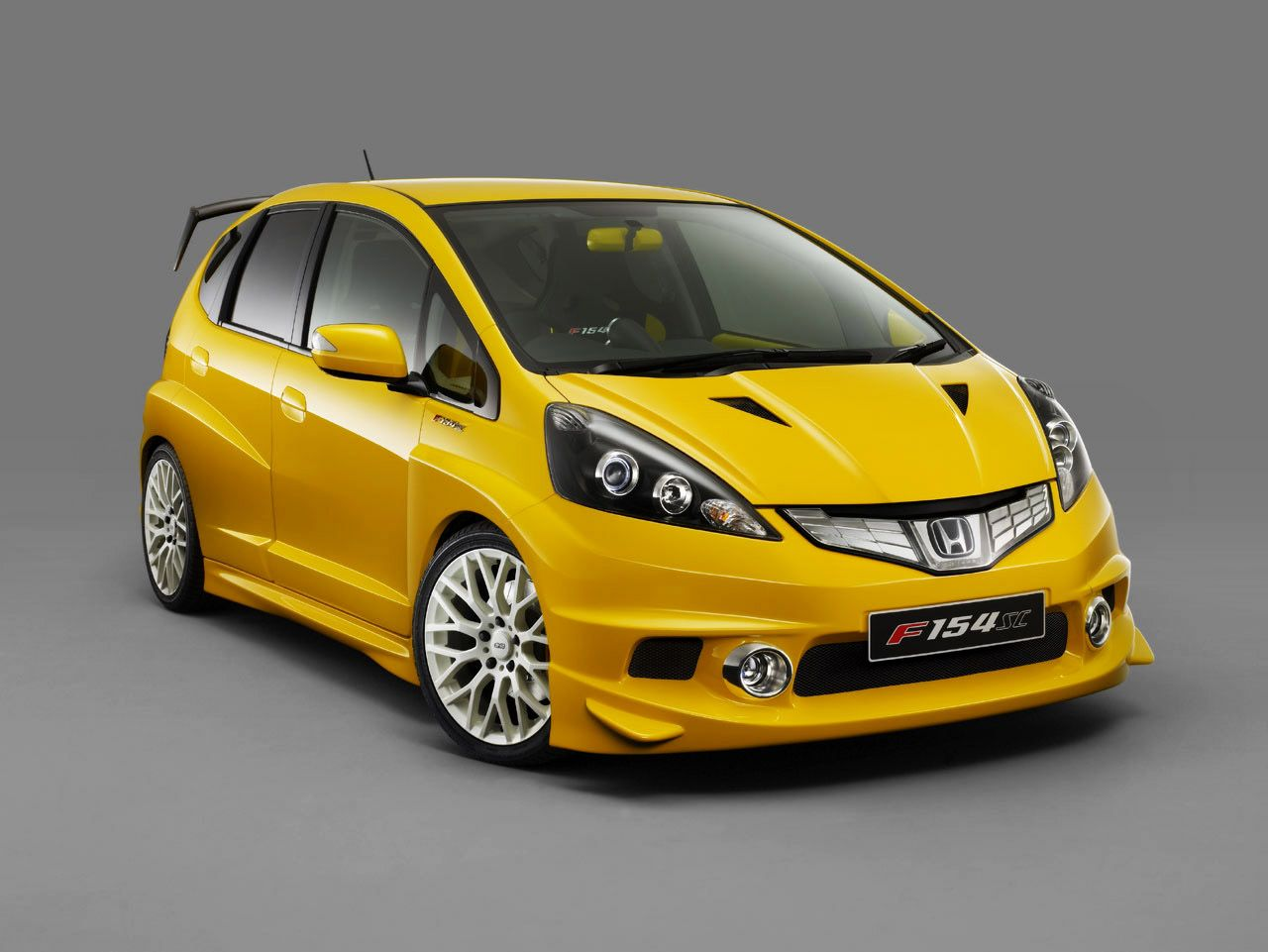 The honda jazz type r