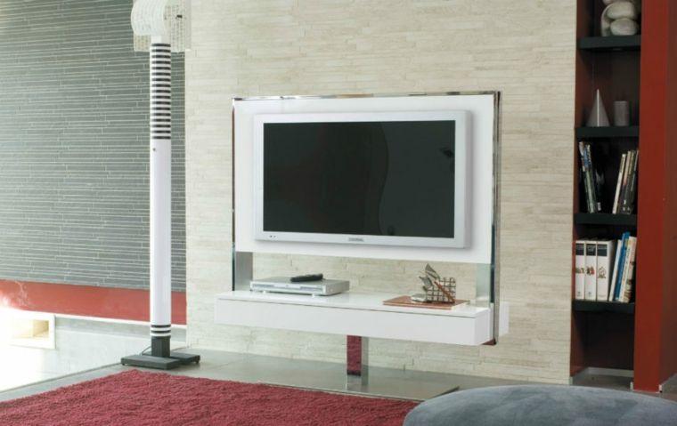 Muebles para TV con diseño moderno a la última hang tv Pinterest