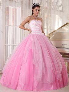 Sweetheart Pink Beading Quinceanera Dress Floor-length | 2014 ...