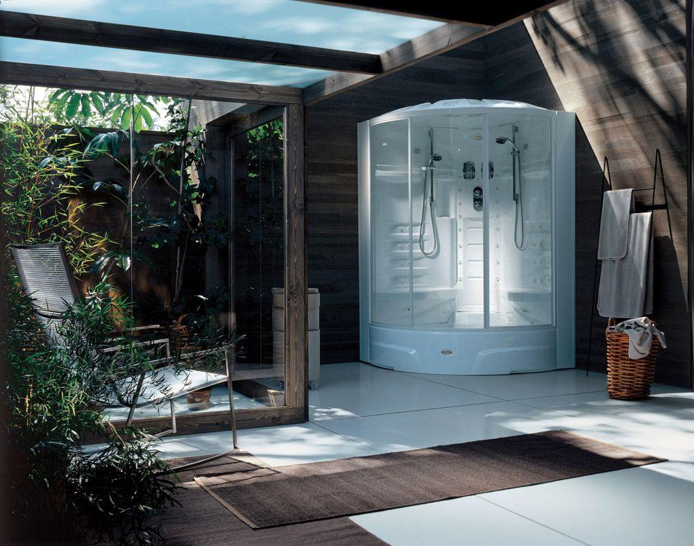 Cabine Doccia Jacuzzi : Cabine doccia cabina doccia flexa double di jacuzzi doccia