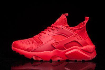 san francisco 9d5fe 49ec9 Nike Air Huarache Run Ultra BR Men Shoes Total Crimson 833147-800