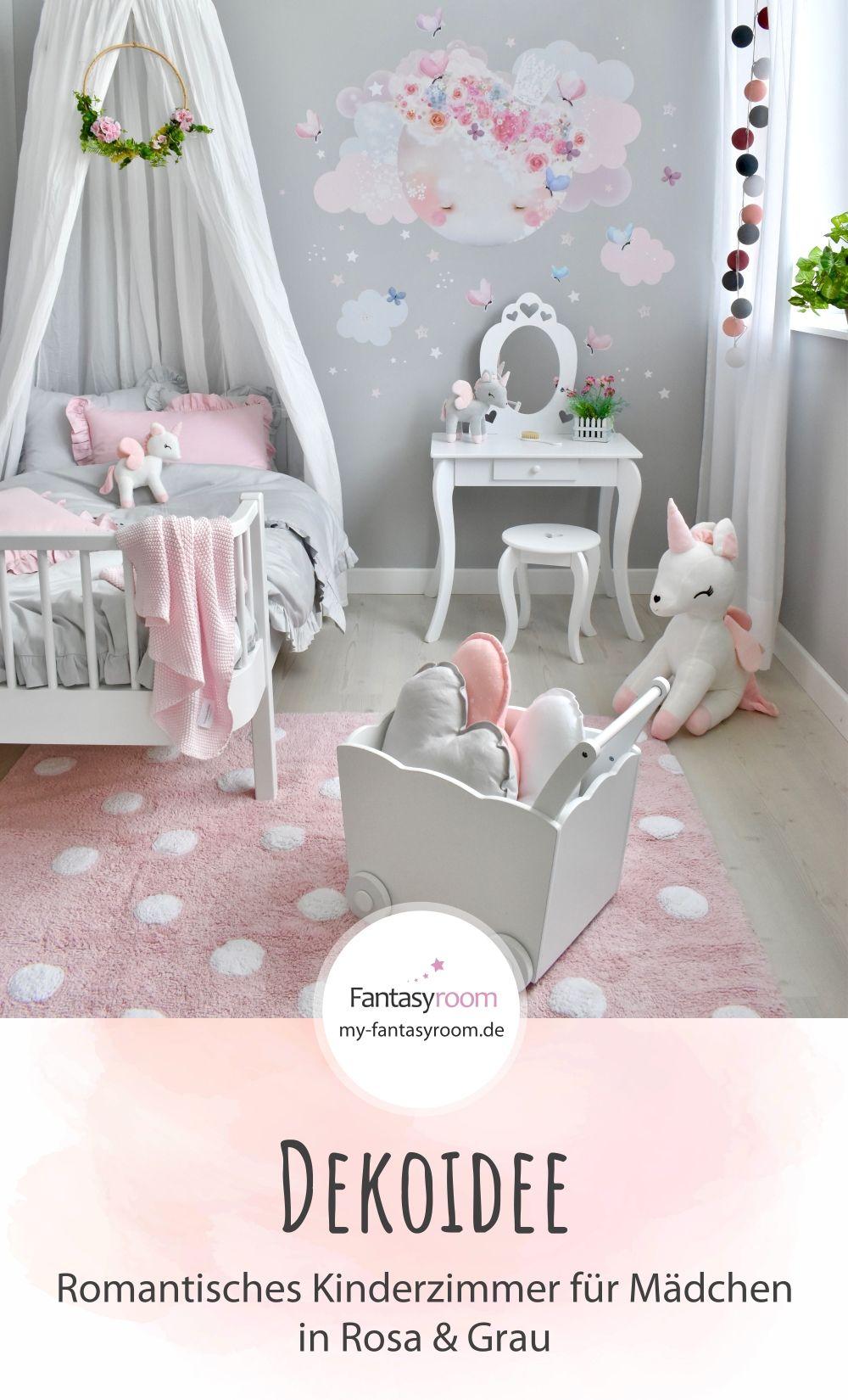 Romantisches Kinderzimmer für Mädchen