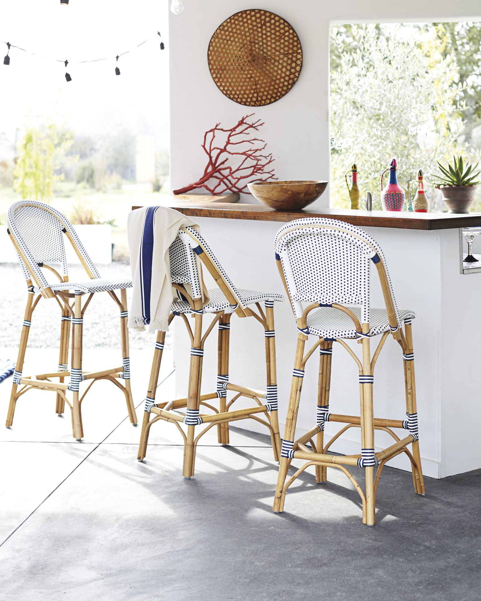 outdoor bar goals riviera stools by serenaandlily dining riviera stools serena lily love for the kitchen island