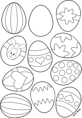 Easter Egg PrintableI Need To Start Doing This For The Boys