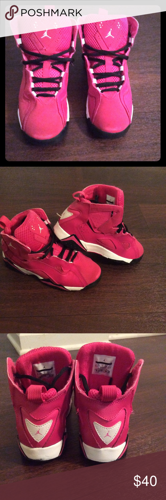 8c7fa31133c0b Jordan Retro 7 Girls Jordan Retro 7 Girls size 1,5 Youth ... Perfect shoes  for Back 2 School they have someone Minor stains on the front as shown in  the ...
