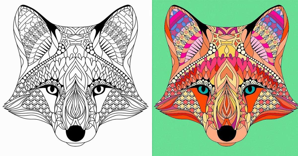 13 Alucinantes Dibujos Para Colorear Para Manejar El Estres