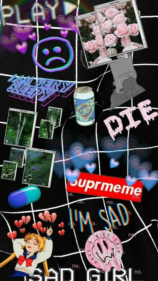 Aesthetic Wallpaper Edgy Baddie Aesthetic Background In 2020 Vaporwave Wallpaper Aesthetic Iphone Wallpaper Trippy Wallpaper