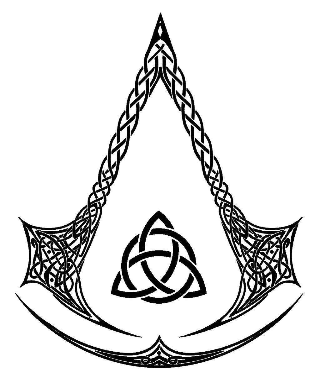 Celtic Assassins Black and white by aFletcherKinnear