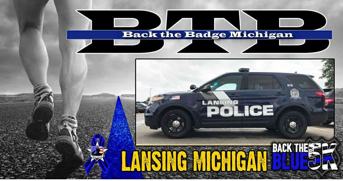 Back the Blue 5K for Back the Badge Michigan Community