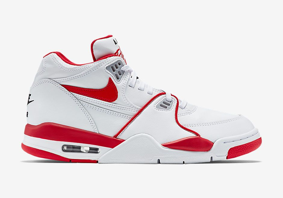 Nike Air Flight 89 White Red 819665 100 Release Info Sneakernews Com Nike Air Flight Nike Flight Nike