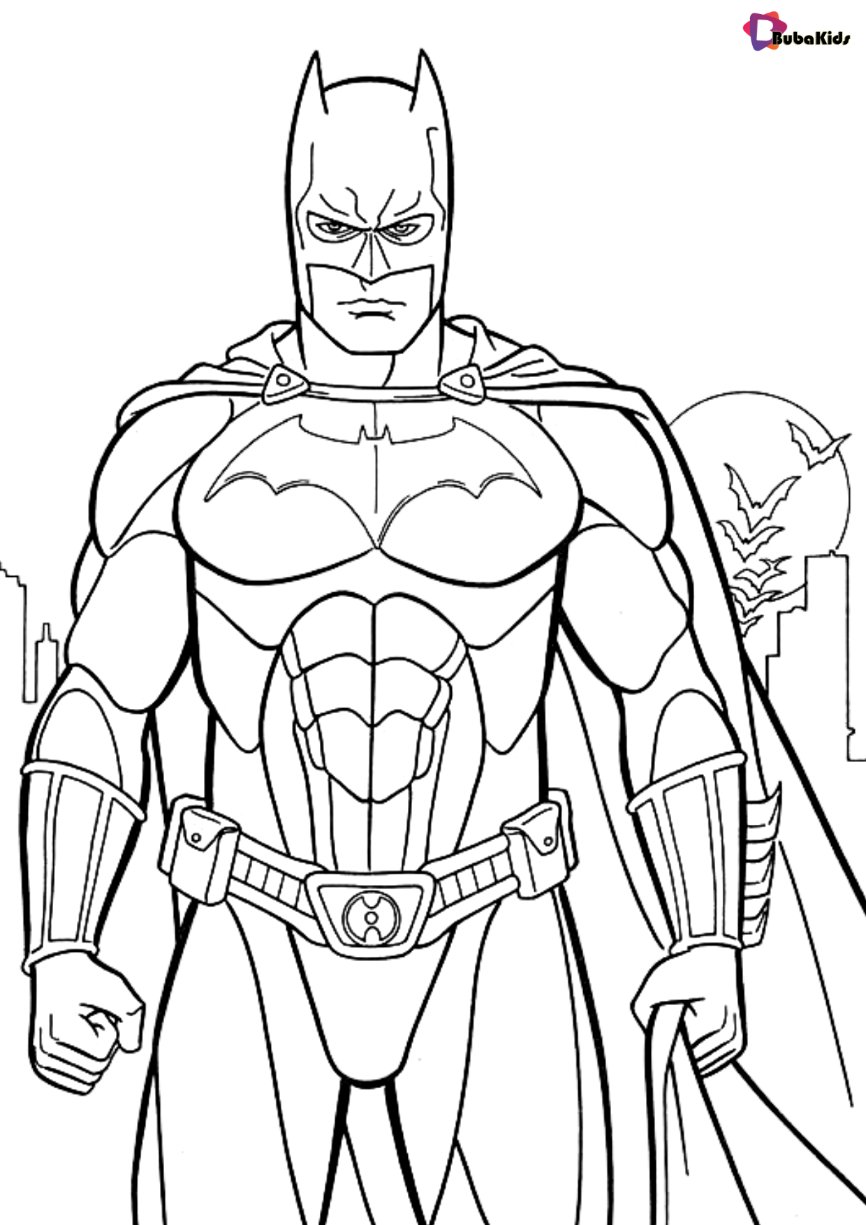 Superhero Coloring Pages Batman Coloring Page Collection Of Cartoon Coloring Pages For In 2020 Batman Coloring Pages Superhero Coloring Pages Free Kids Coloring Pages