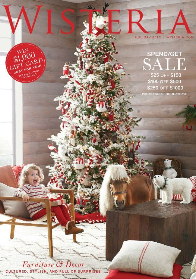 30 home decor catalogs you can get for free by mail wisteria - Christmas Decor Catalogs Free