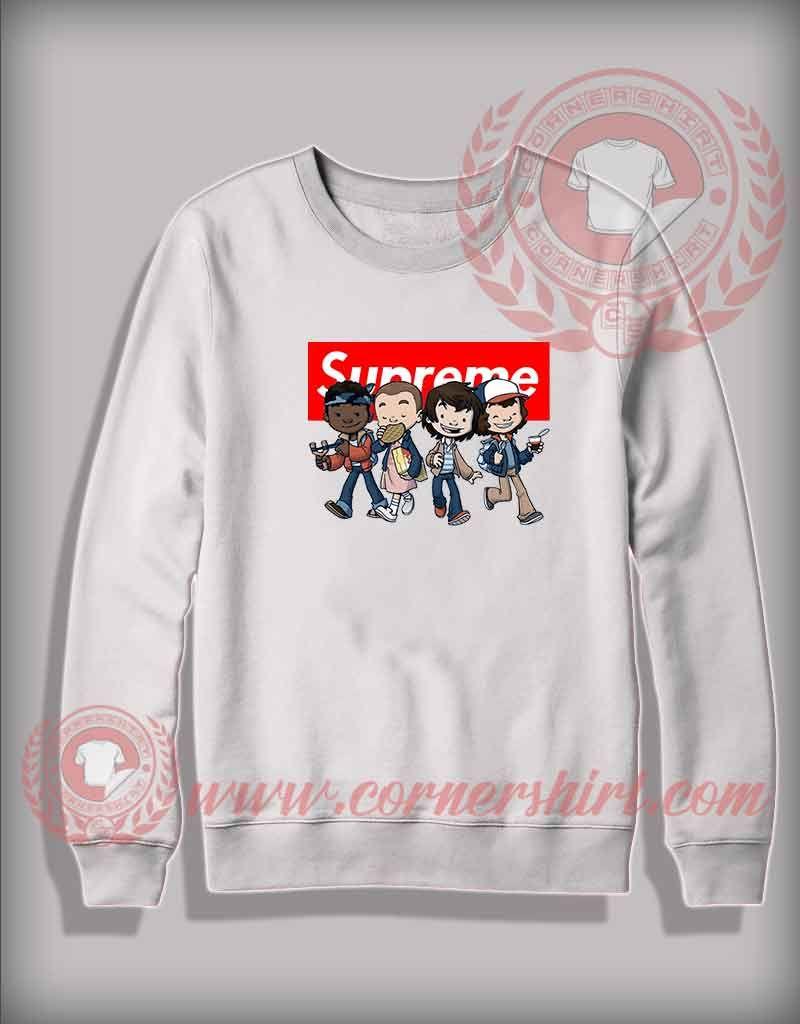 b5dfea62397d Custom Design Sweatshirt Stranger Things Kids Supreme   Price   24.00     hoodie