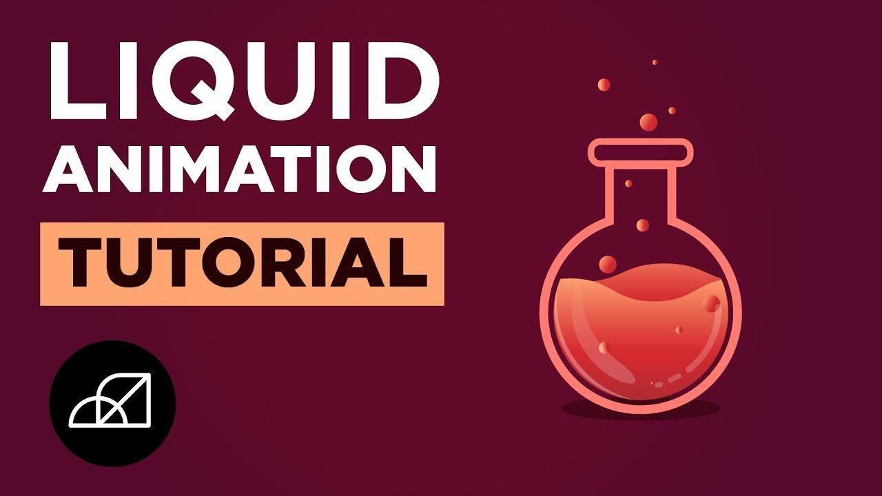 Liquid Animation Easy After Effects Tutorial, Speed Art