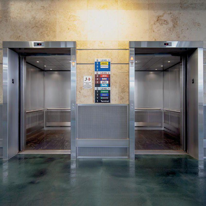 Levele 105 Elevator Interiors At Nashville International Airport